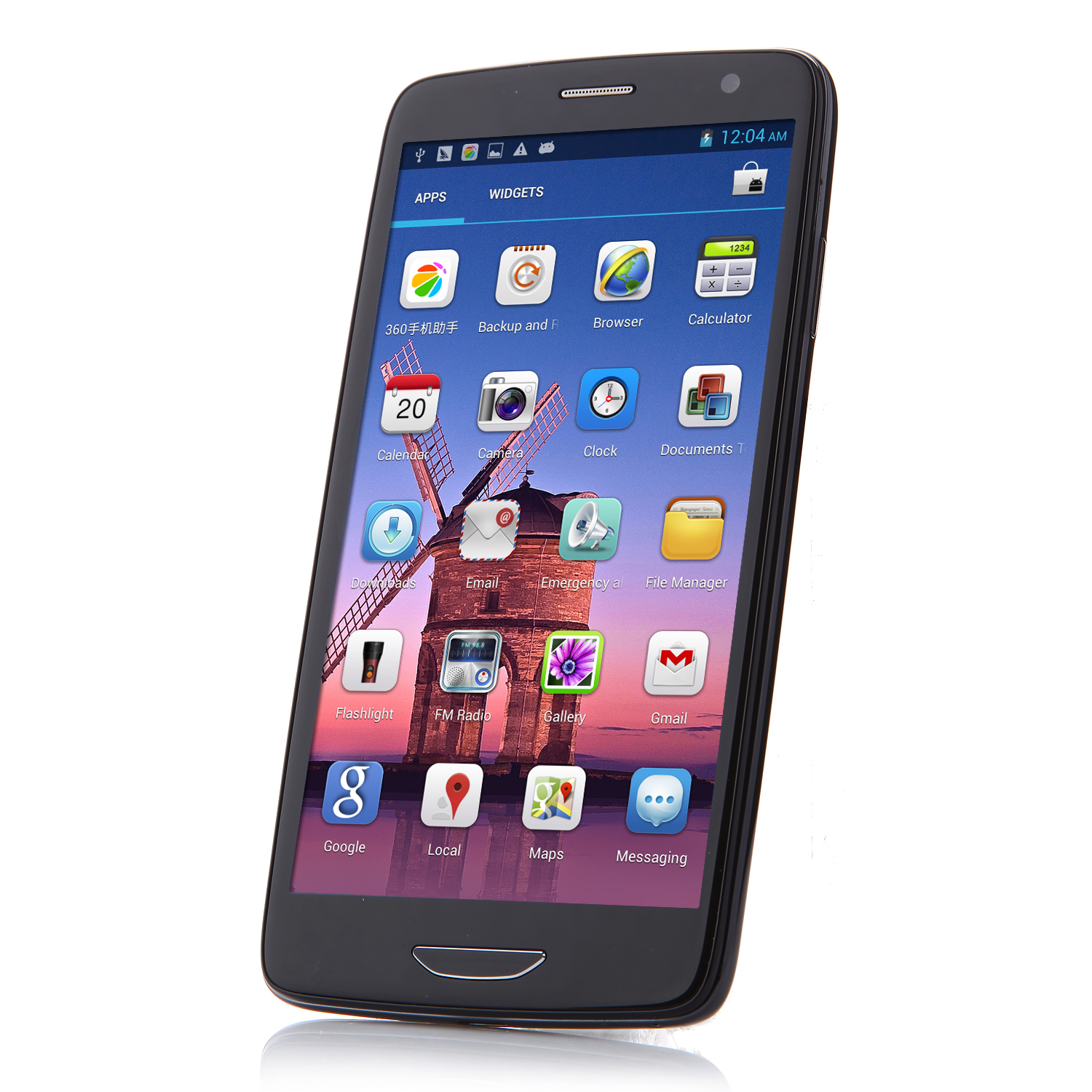 iNew i3000 Smartphone Android 4.2 MTK6589 Quad Core 5.0 Inch HD Screen 1GB 8GB Black