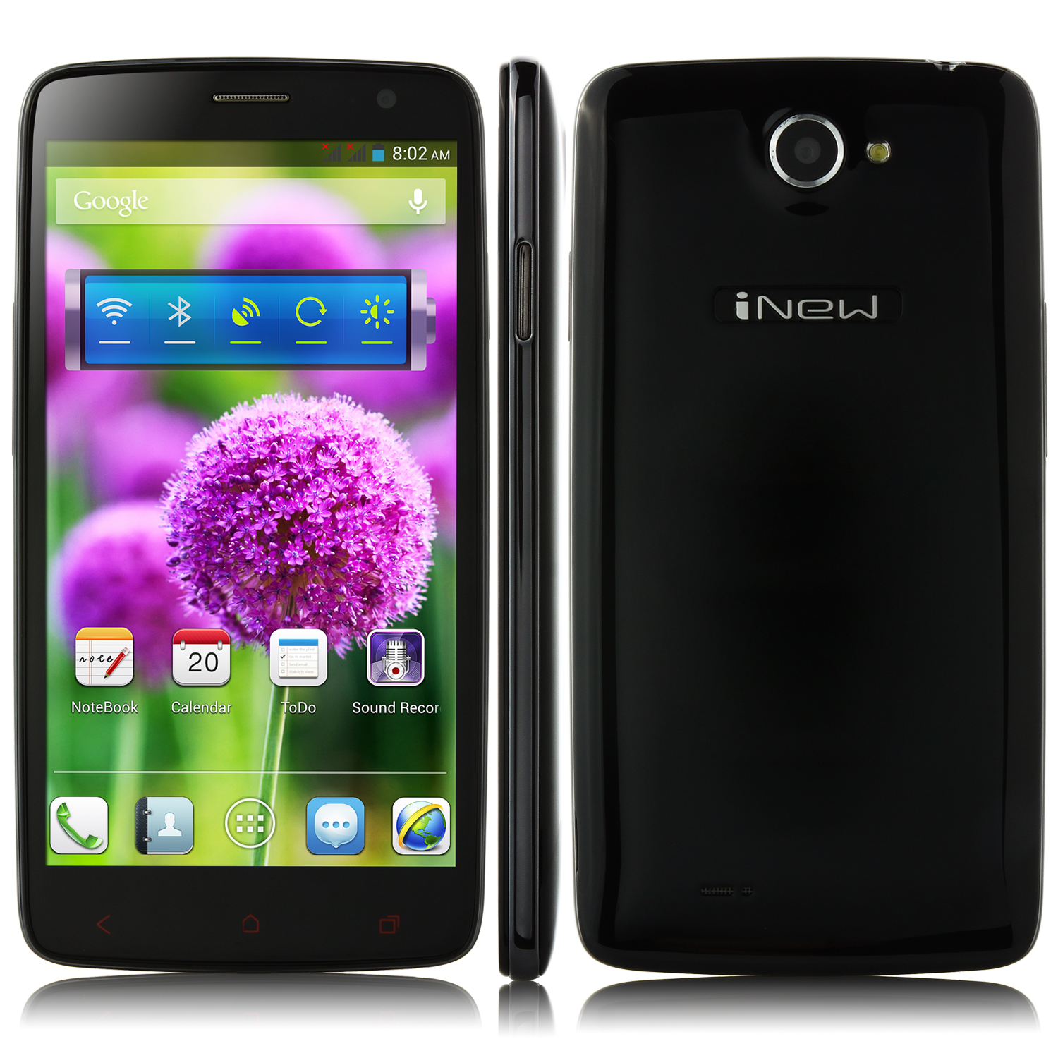 iNew i4000 Smartphone 5.0 Inch FHD Screen MTK6589T 1.5GHz 2GB 32GB 3G OTG Black