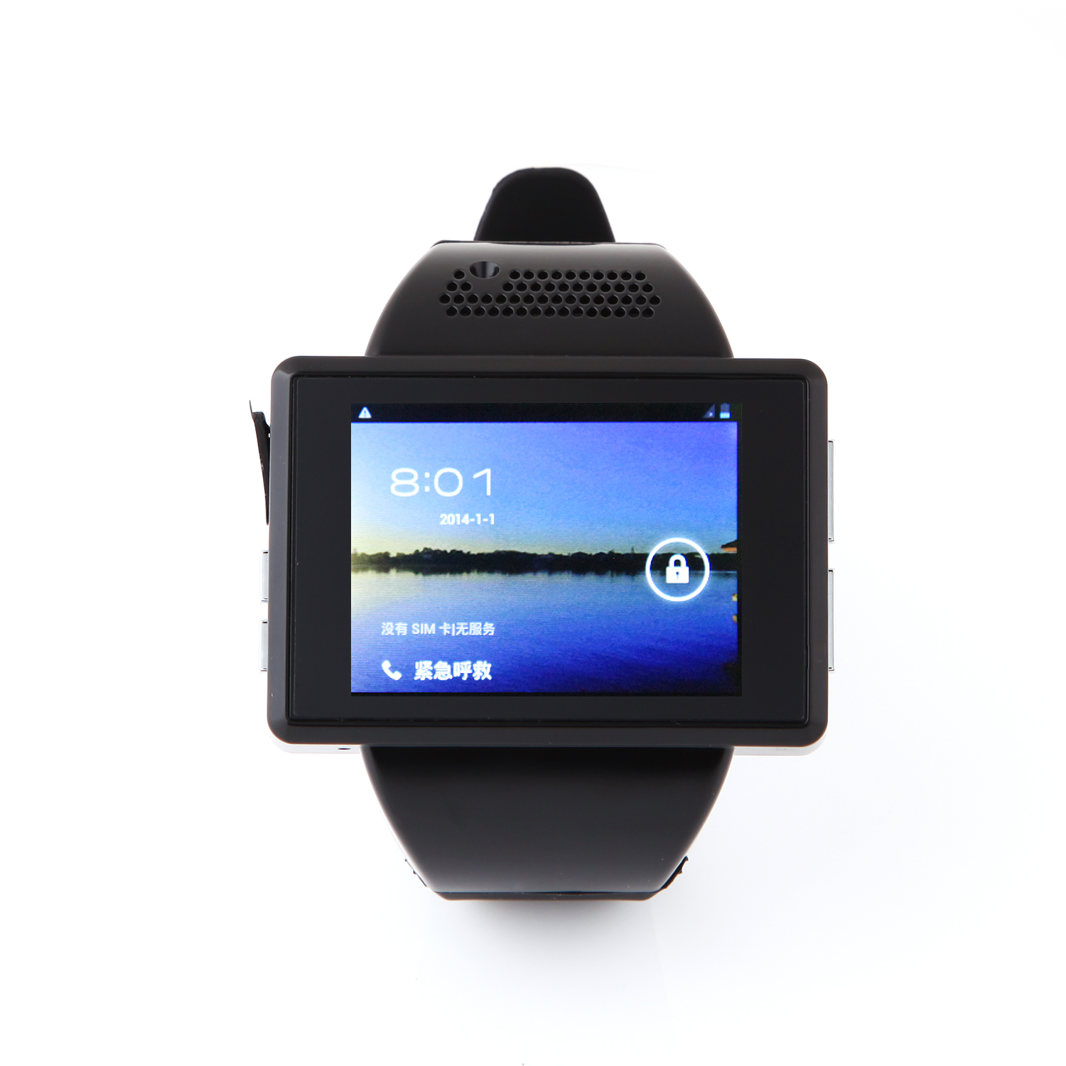 An1 Smart Watch Phone 2.0 Inch MTK6515 Android 4.1 Camera GPS WiFi - Black