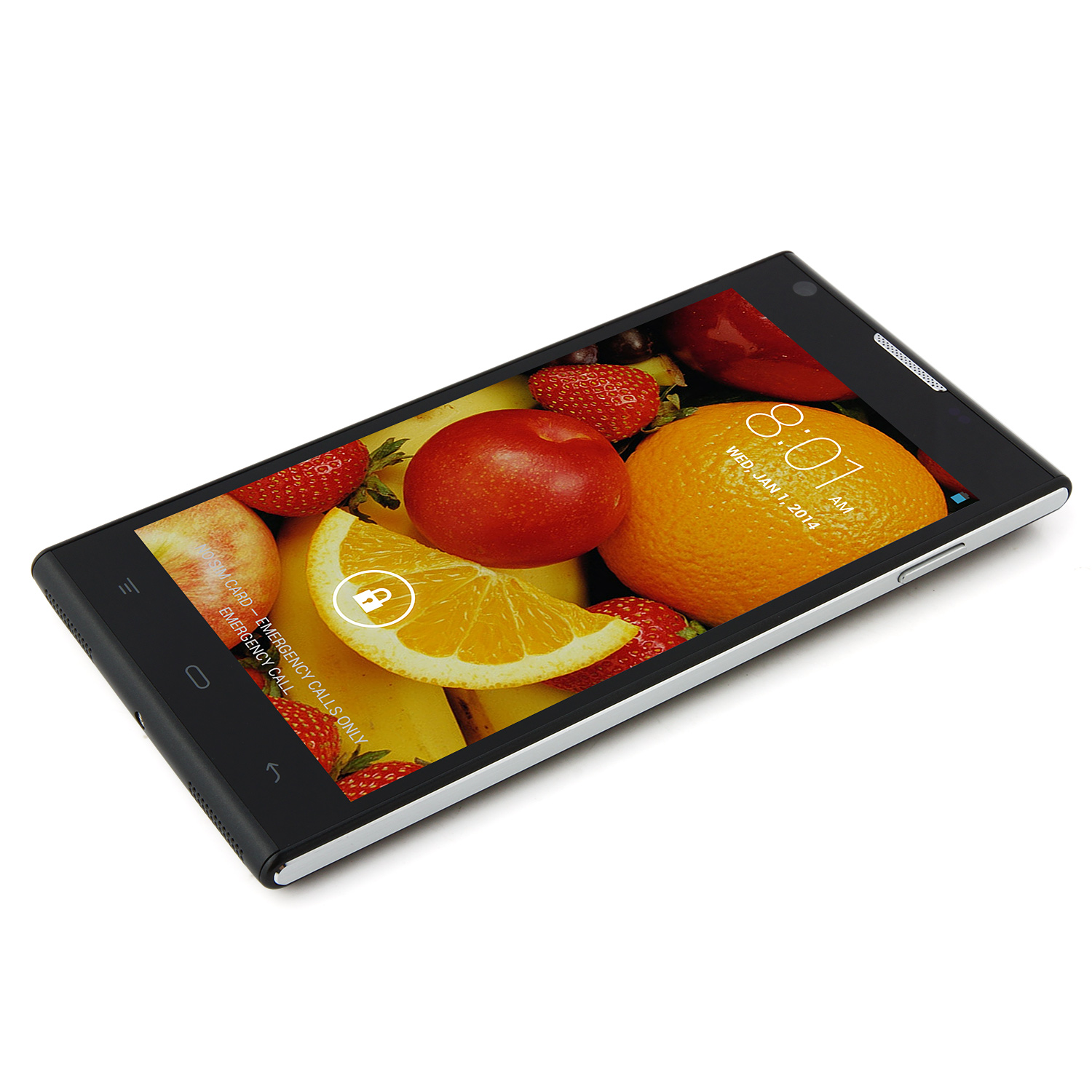 CUBOT P7 Smartphone MTK6582 5.0 Inch QHD IPS Screen Android 4.2 - Black