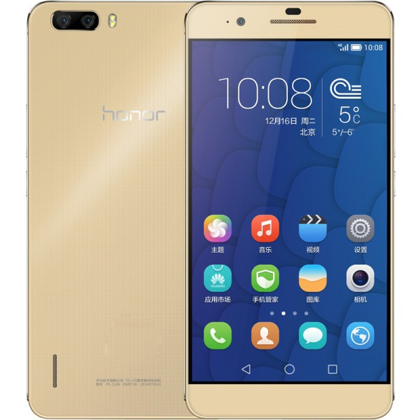 HUAWEI Honor 6 Plus Smartphone 4G LTE Triple 8.0MP Camera 3GB 32GB 5.5 Inch FHD Golden