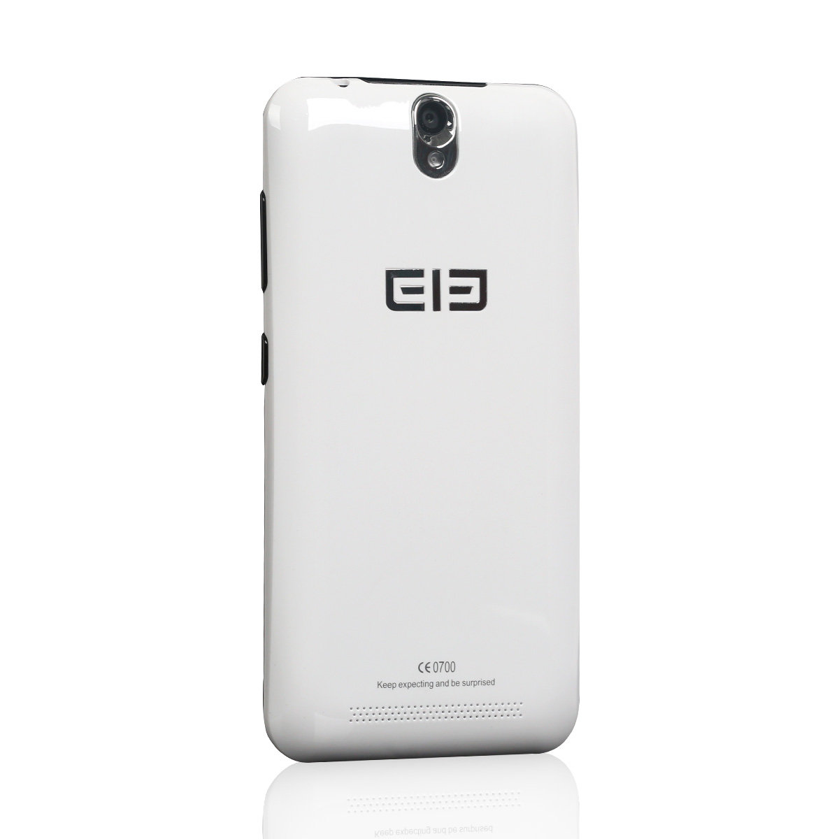 Elephone P4000 Smartphone Android 5.1 64bit MTK6735P Quad Core 4600mAh 5 inch HD White