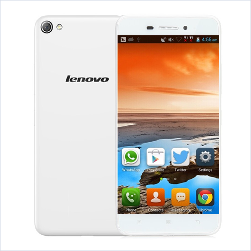 Lenovo S60W Smartphone 4G LTE 64bit Quad Core 2GB 8GB 5.0 Inch HD Screen 13.0MP White