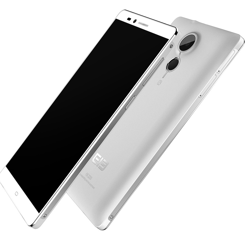 Elephone Vowney Smartphone 5.5 Inch 2K Screen 4GB 32GB MTK6795 Octa Core Touch ID White