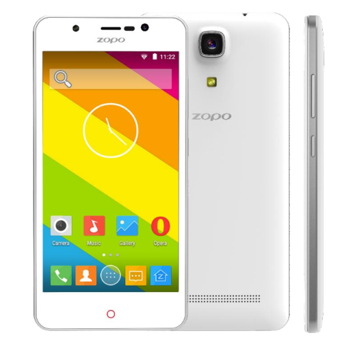 ZOPO ZP350 Smartphone 5.0 Inch HD IPS 4G 64bit Quad Core Android 5.1 Front LED- White