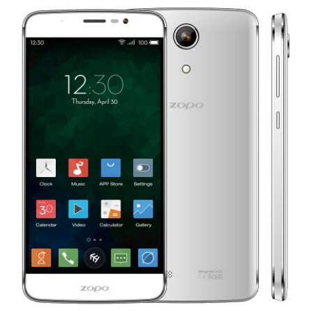 ZOPO Speed 7 Plus Smartphone 5.5 Inch FHD 4G 64bit 3GB 16GB Octa Core 3000mAh- White