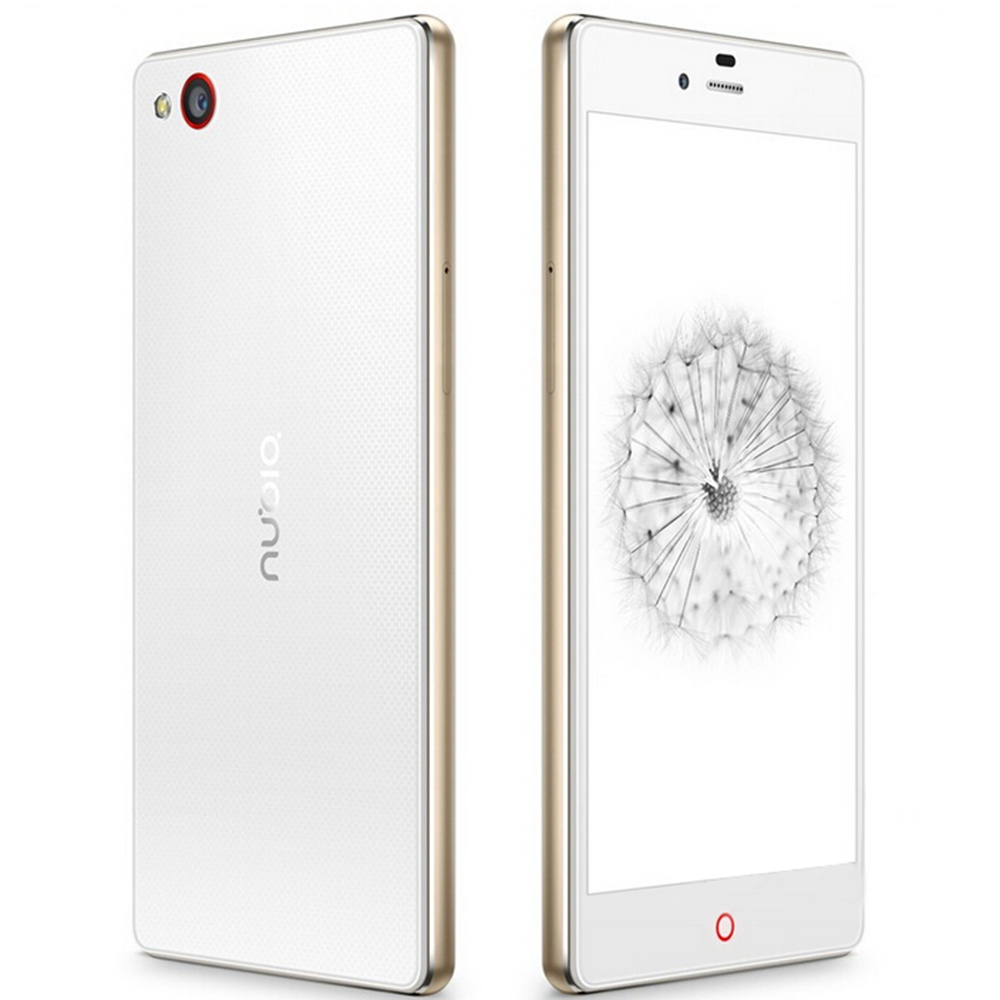 ZTE Nubia Z9 mini Smartphone 4G LTE Android 5.0 Octa Core 5.0inch FHD Screen 16MP White