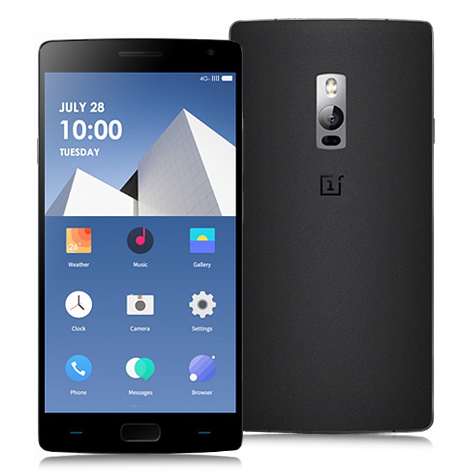OnePlus 2 Smartphone 5.5 Inch Touch ID 3GB 16GB Snapdragon 810 Octa Core 64bit 4G Black