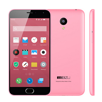 MEIZU m2 Smartphone 5.0 Inch Android 5.1 2GB 16GB MTK6735 Quad Core 4G LTE Pink