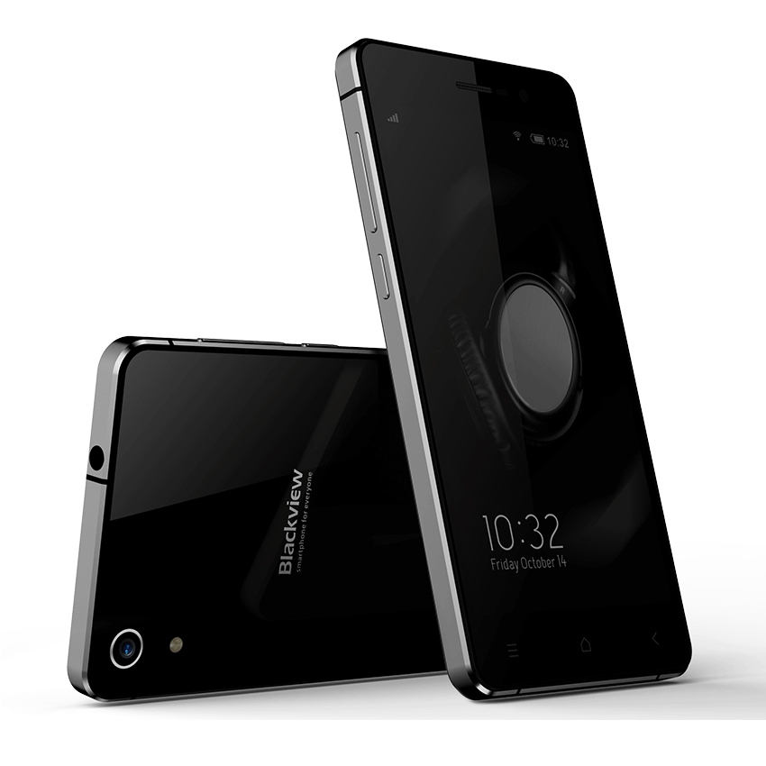 Blackview Omega Pro Smartphone 3GB 16GB MTK6753 Octa Core 5.0 Inch LG Screen Black