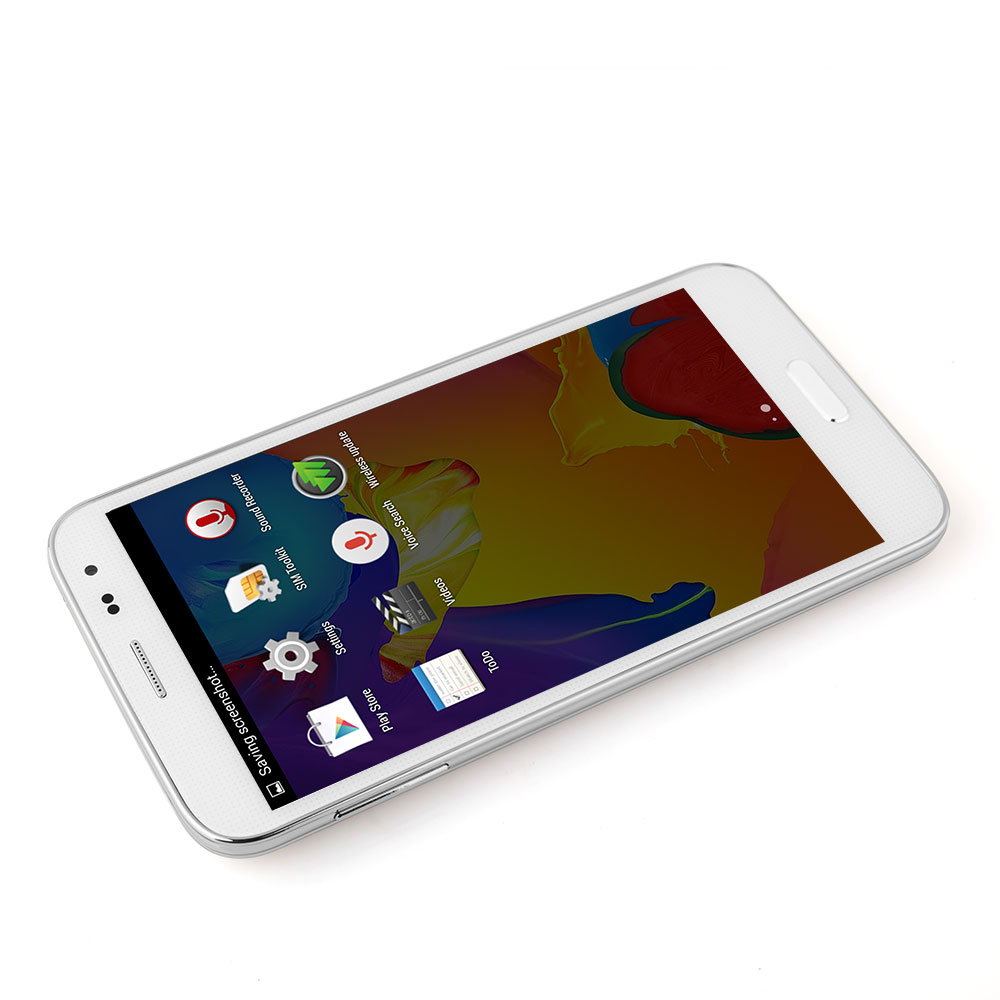 Haipai S5 Smartphone Android 4.4 MTK6592 5.0 Inch OTG Smart Wake Up 1GB 8GB 3G White