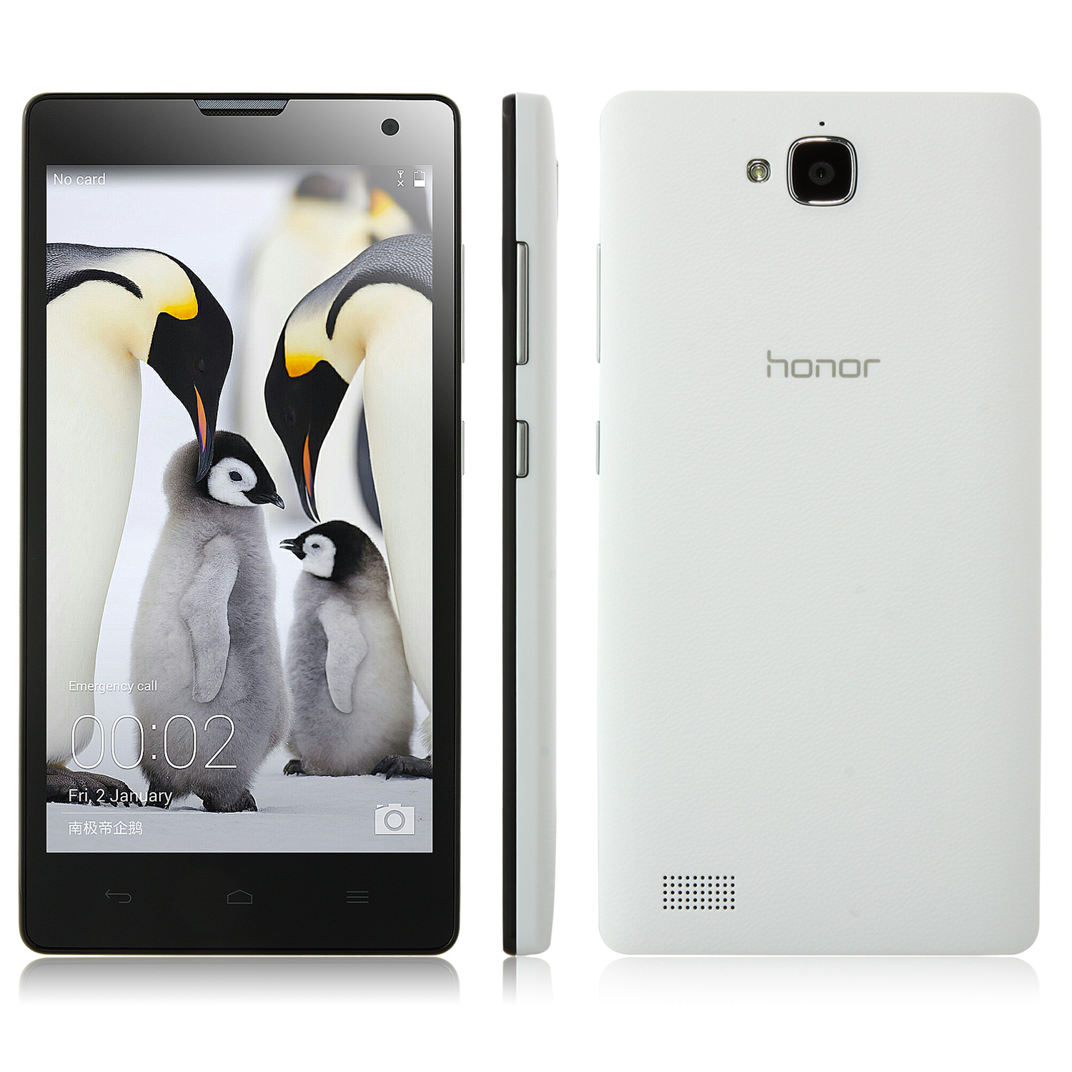 HUAWEI Honor 3C Smartphone 4G LTE 2GB 16GB Hisilicon Kirin 910 5.0 Inch HD OGS Screen