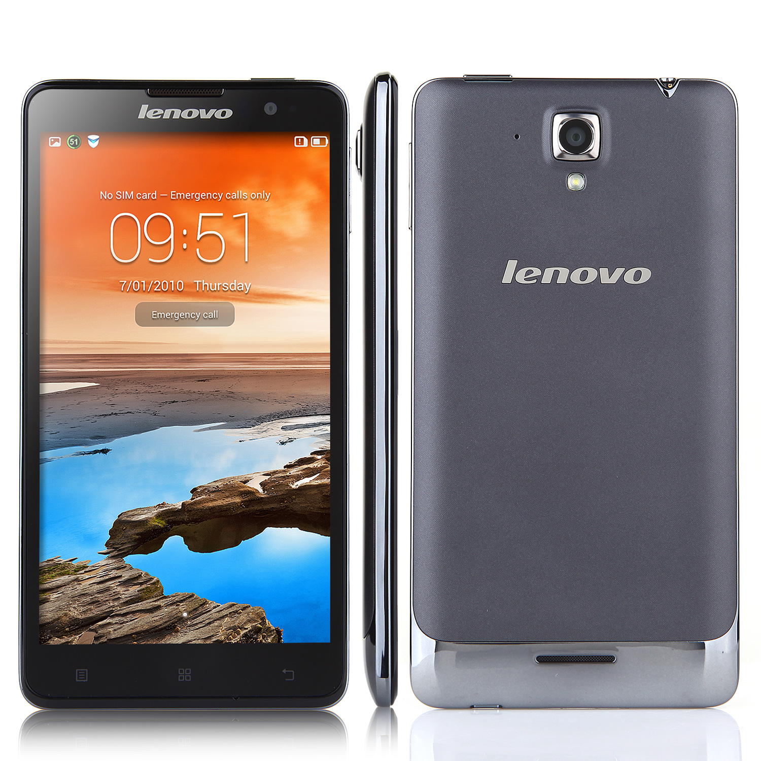 Lenovo Golden Warrior S8 Slim Smartphone MTK6592 2GB 16GB 5.3 Inch Gorilla Glass Gray