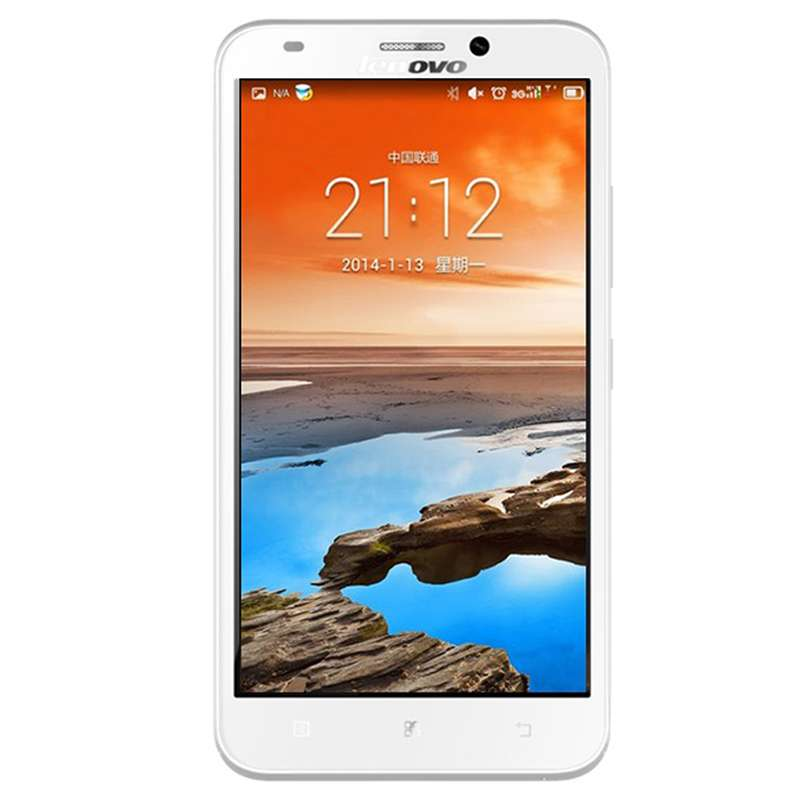 Lenovo A916 Smartphone 4G Android 4.4 MTK6592M 5.5 Inch HD Screen 1GB 8GB White