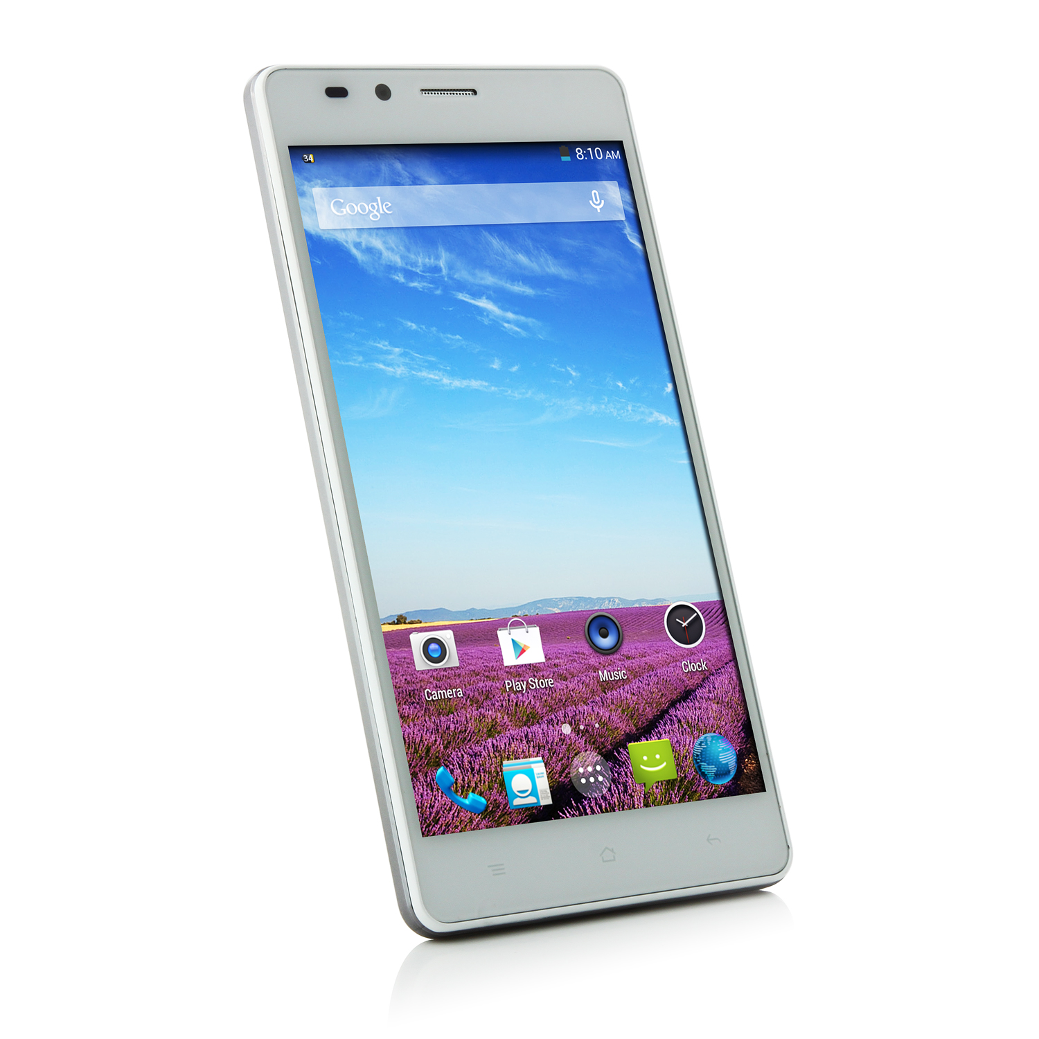 LANDVO L550 Smartphone Android 4.4 MTK6592M 5.0 Inch QHD Screen 3G White