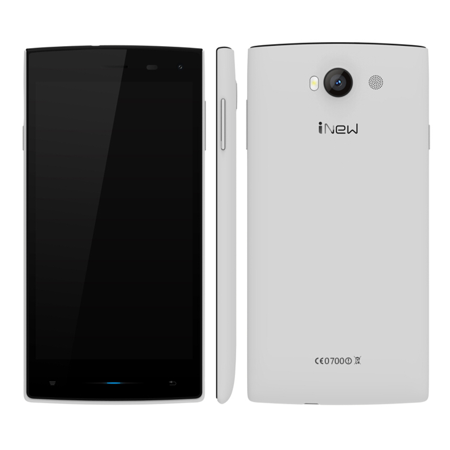 iNew V1 Smartphone Android 4.4 MTK6582 5.0 Inch 1GB 8GB 3G White