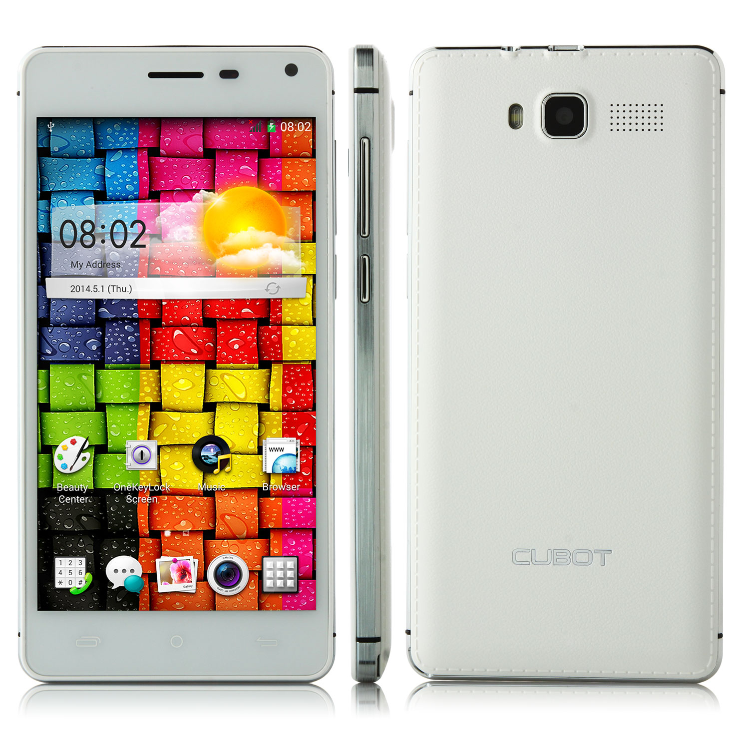 CUBOT S200 Smartphone MTK6582 5.0 Inch HD Screen 3300mAh Battery 13.0MP Camera OTG