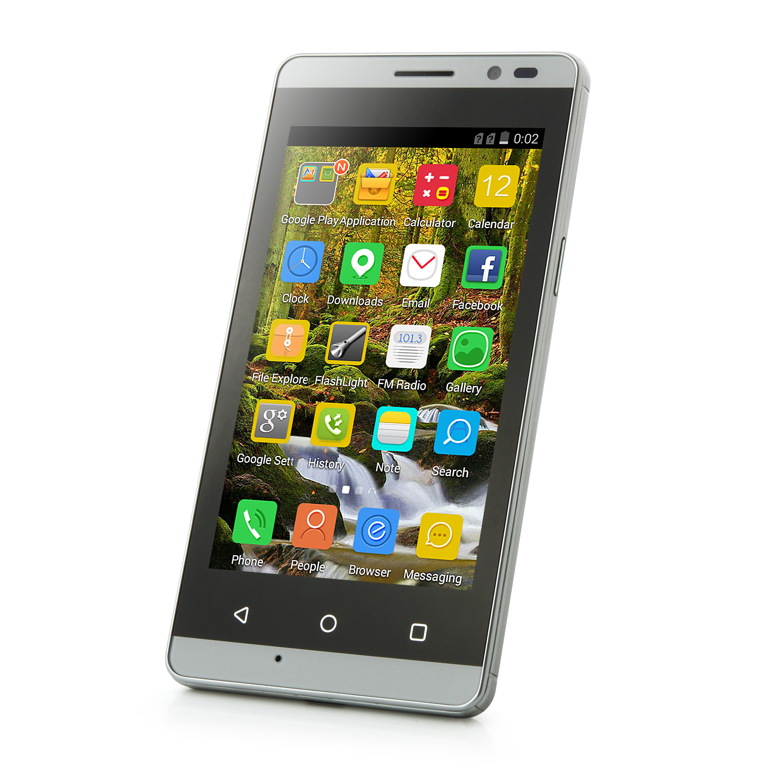 Tengda Q5 Smartphone Android 4.4 MTK6572W 4.0 Inch 3G Black