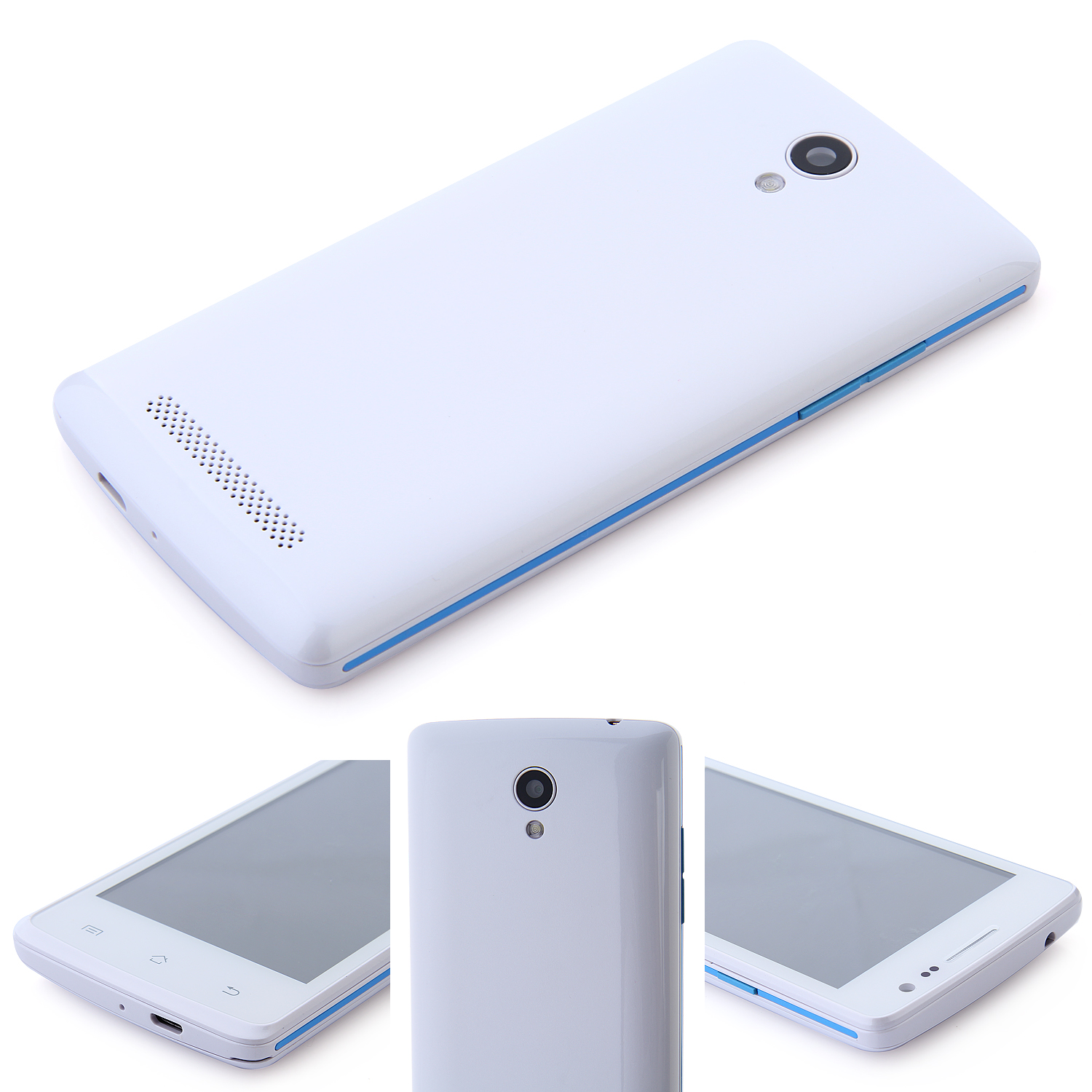 S2 Smartphone Android 4.4 SC7715 4.1 inch 3G GPS White