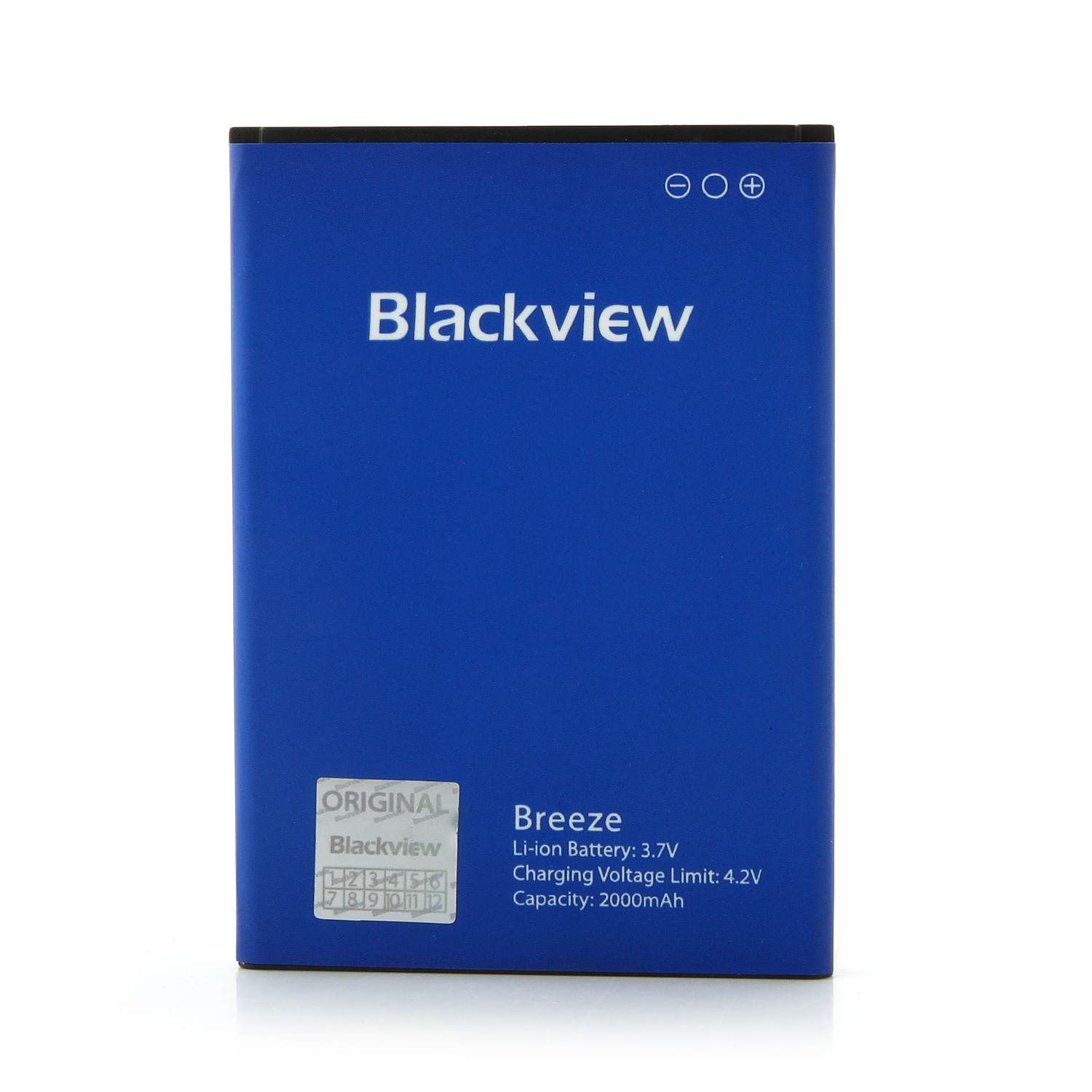 Blackview Breeze V2 Smartphone Android 5.0 MTK6582 Quad Core 1GB 8GB 4.5 Inch OTG Black