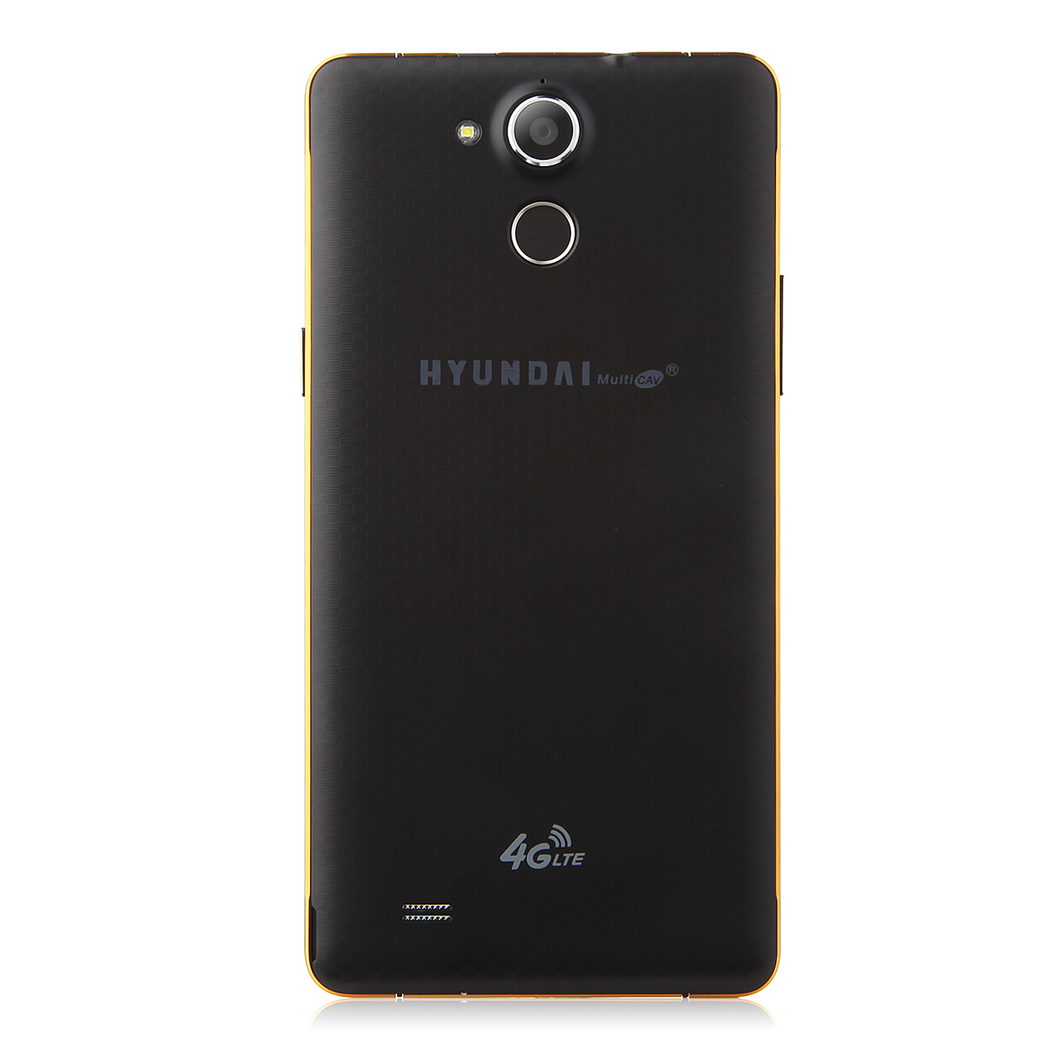 HYUNDAI Q6 4G Smartphone 5.5 Inch HD Screen 64bit MTK6732 Quad Core 3300mAh Black