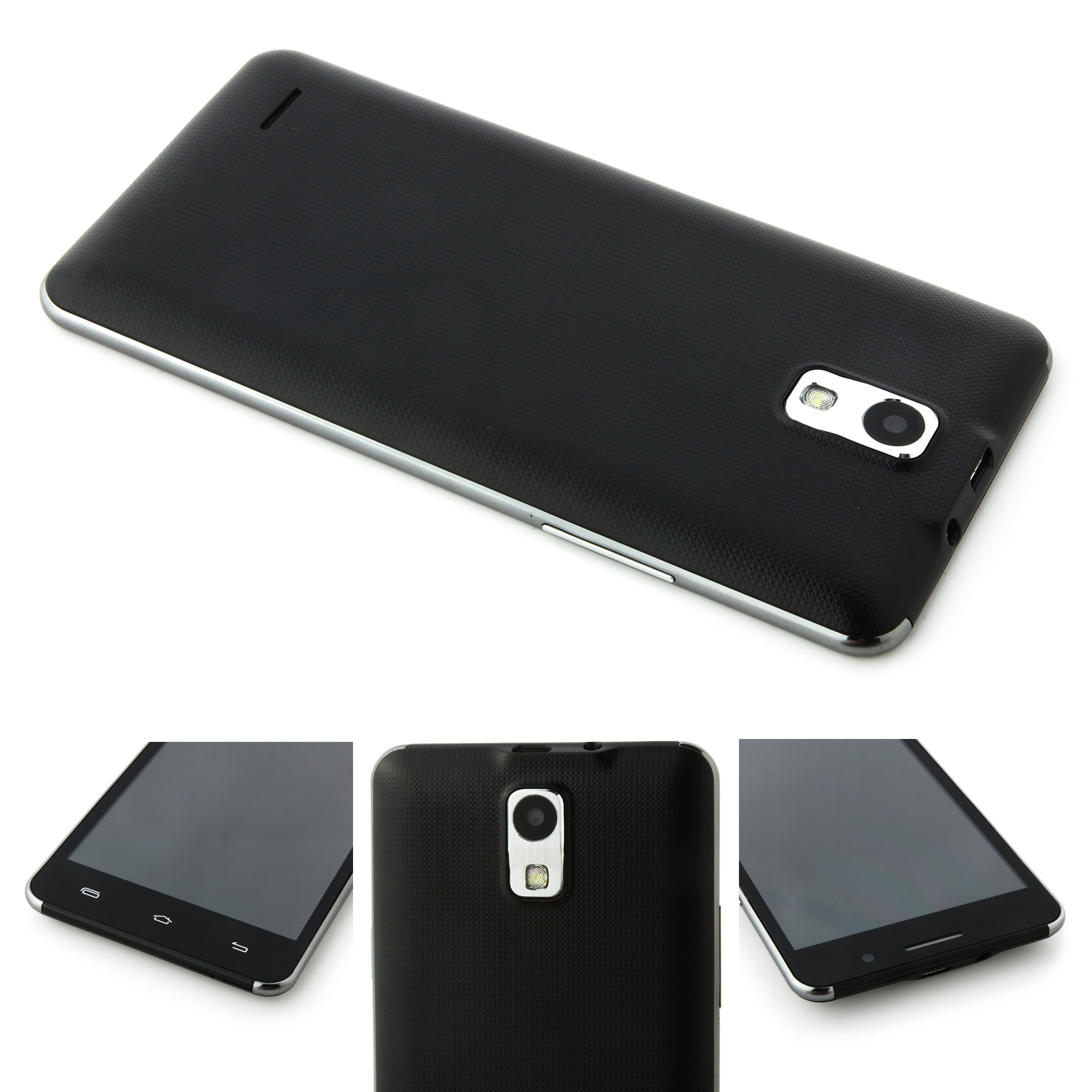 P7 Smartphone 5.0 inch QHD Screen MTK6572W Android 4.4 Smart Wake Black