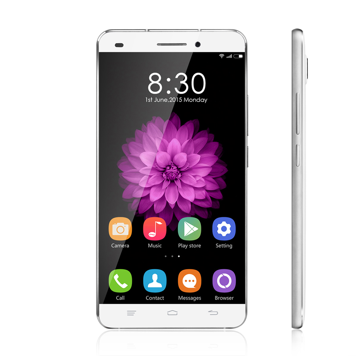 OUKITEL U8 4G Smartphone 5.5 Inch MTK6735M Quad Core Android 5.1 2GB 16GB White