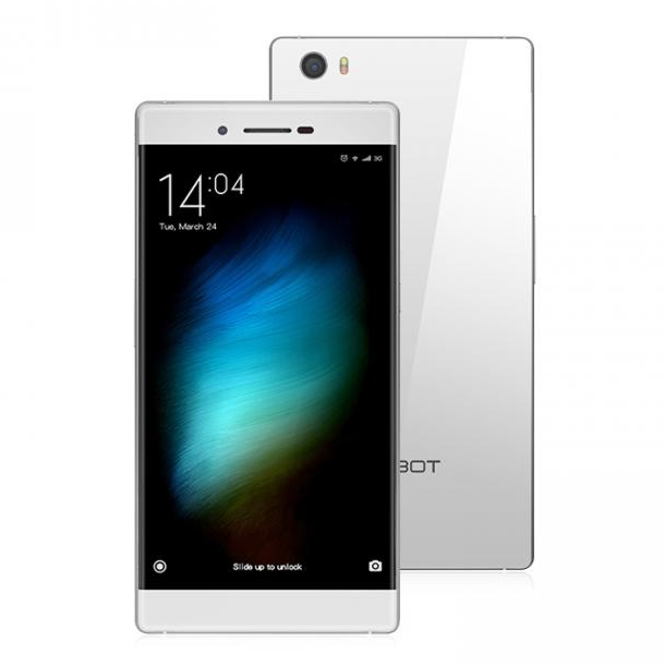 Cubot X11 Smartphone 5.5 Inch MTK6592M Octa Core 2GB 16GB 6.5mm Thin IP65 White