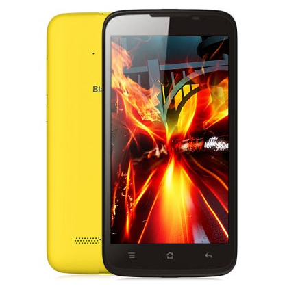 BlackView Zeta V16 Smartphone 5.0 Inch HD MTK6592M Octa Core Android 4.4 1GB 8GB Yellow