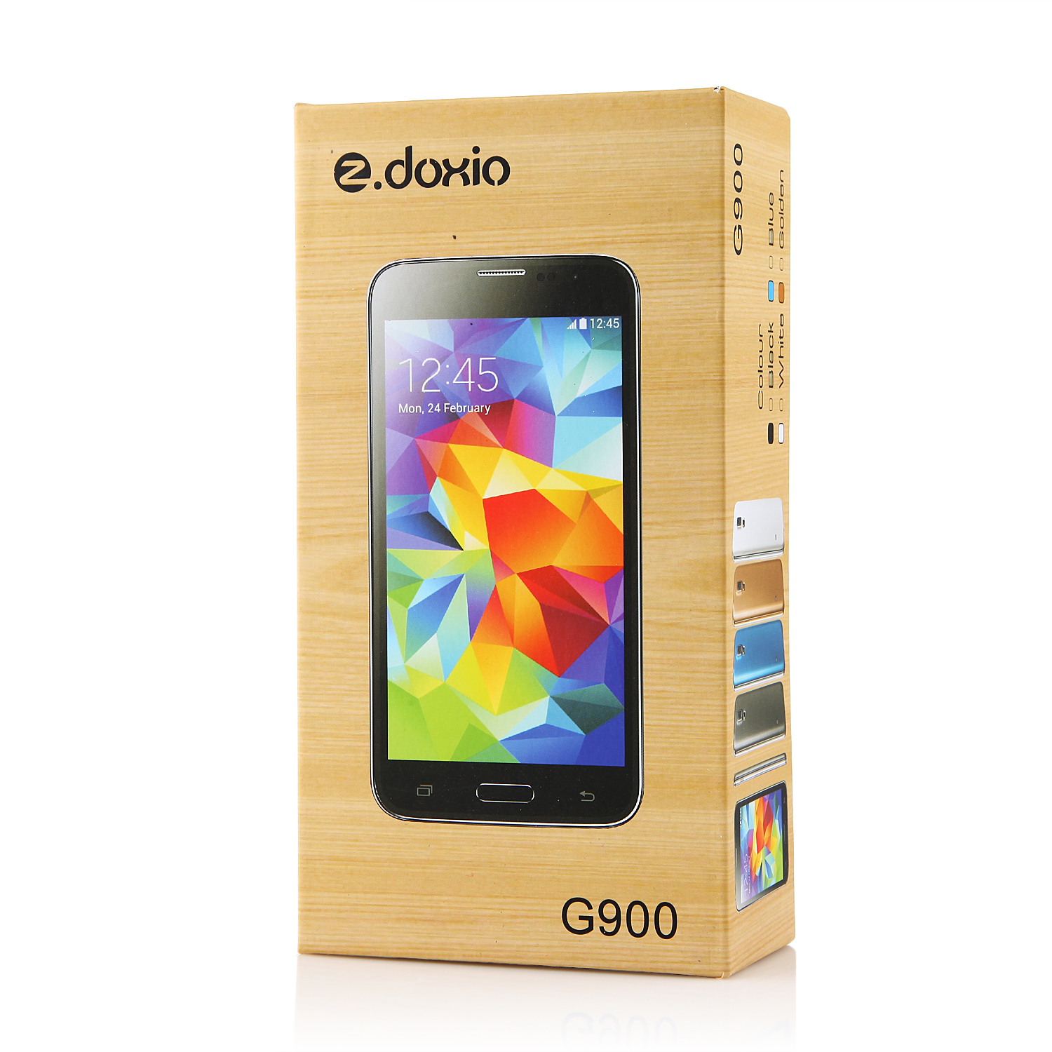 Doxio G900H Smartphone Android 4.2 MTK6572W  5.0 Inch 3G GPS Black