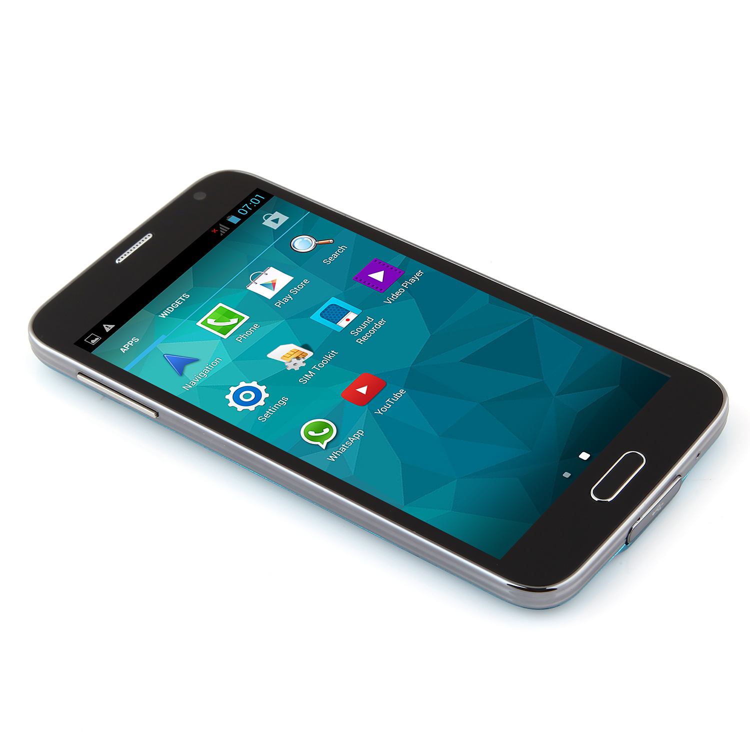 Doxio G900H Smartphone Android 4.2 MTK6572W  5.0 Inch 3G GPS Blue