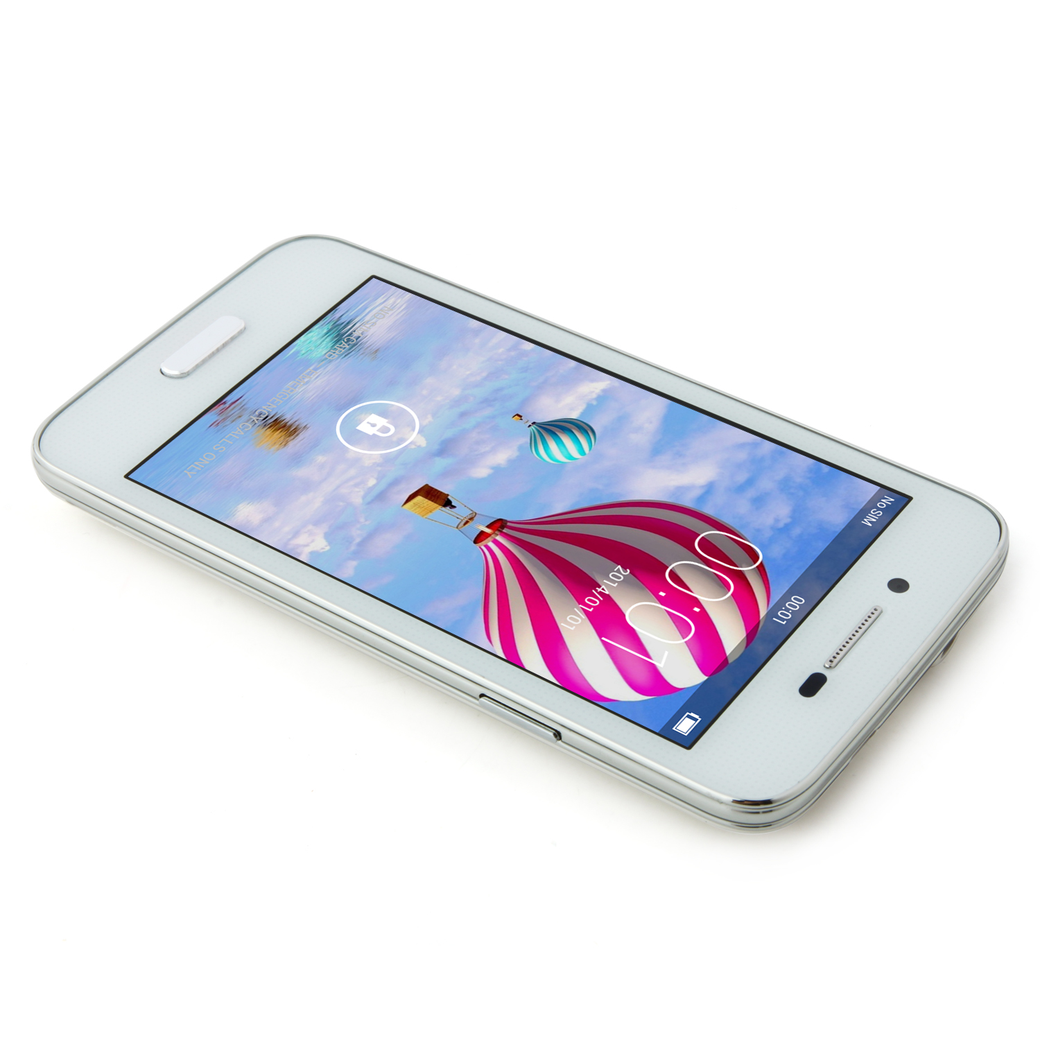 S55W Smartphone Android 4.2 MTK6572W 512MB 2GB 4.0 Inch 3G GPS White