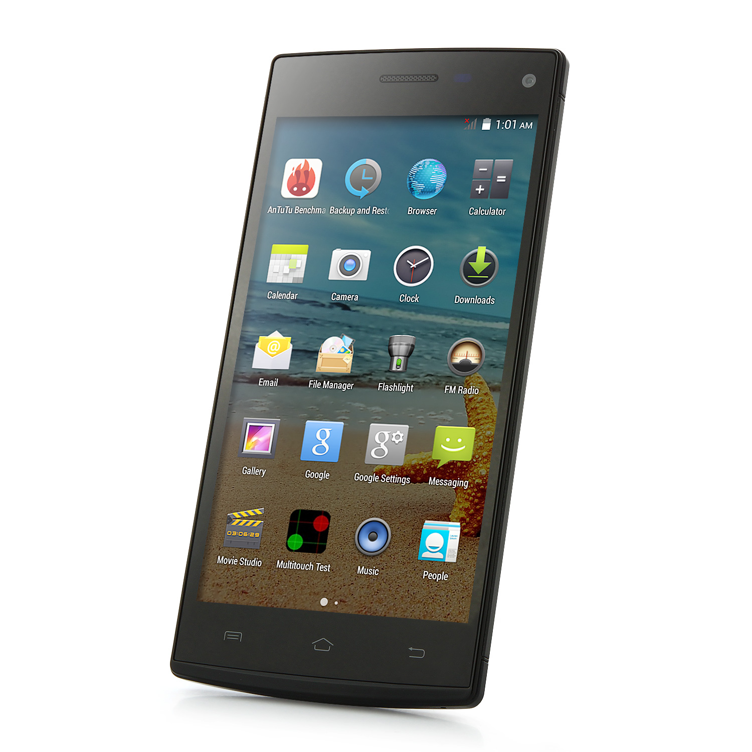 Star H930 Smartphone Android 4.4 MTK6592 1GB 8GB 5.0 Inch OTG Smart Wake Black