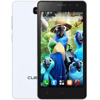 Cubot S168 Smartphone Android 4.4 MTK6582 Quad Core 1GB 8GB 5.0 Inch QHD Screen White