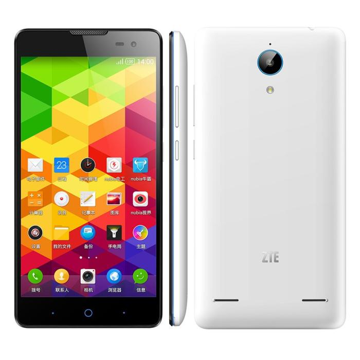 ZTE V5 Max Smartphone 64bit 4G LTE Android 4.4 Quad Core 2GB 16GB 5.5 inch HD Screen