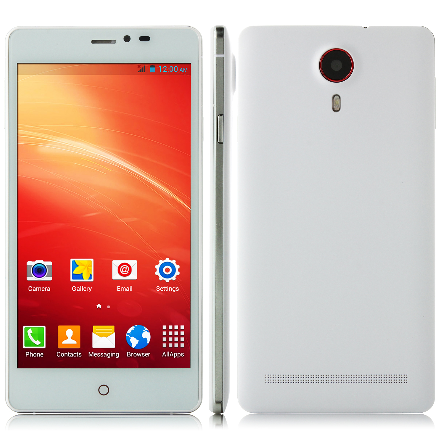 JIAKE V13 Smartphone Android 4.2 MTK6572W 5.5 Inch QHD Screen Smart Wake White