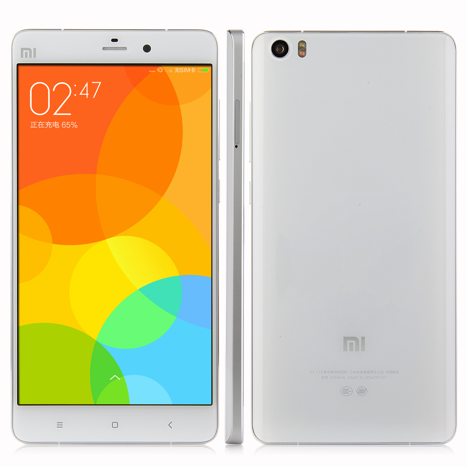 XIAOMI MI Note 4G LTE Snapdragon 801 Quad Core 2.5GHz 3GB 64GB 5.7 Inch 13.0MP White