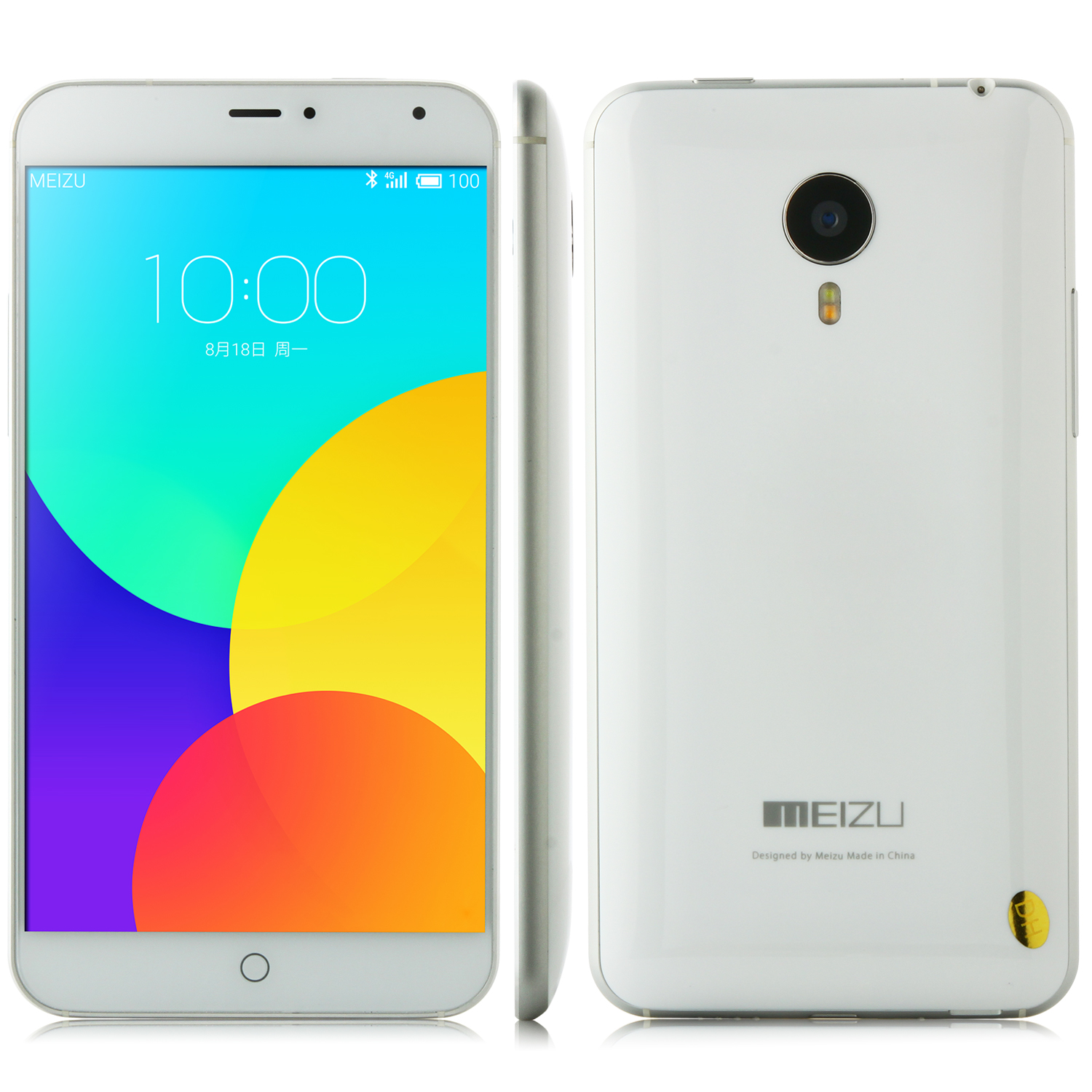 MEIZU MX4 Smartphone 4G MTK6595 5.36 Inch Gorilla Glass Screen 2GB 32GB Flyme 4.0 White