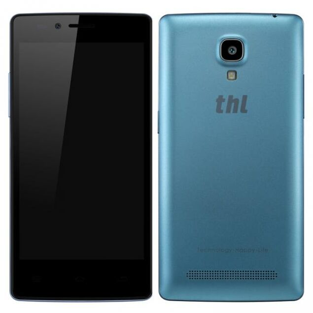 THL T12 Smartphone MTK6592M Octa Core 1GB 8GB 4.5 Inch HD Screen Android 4.4 Blue