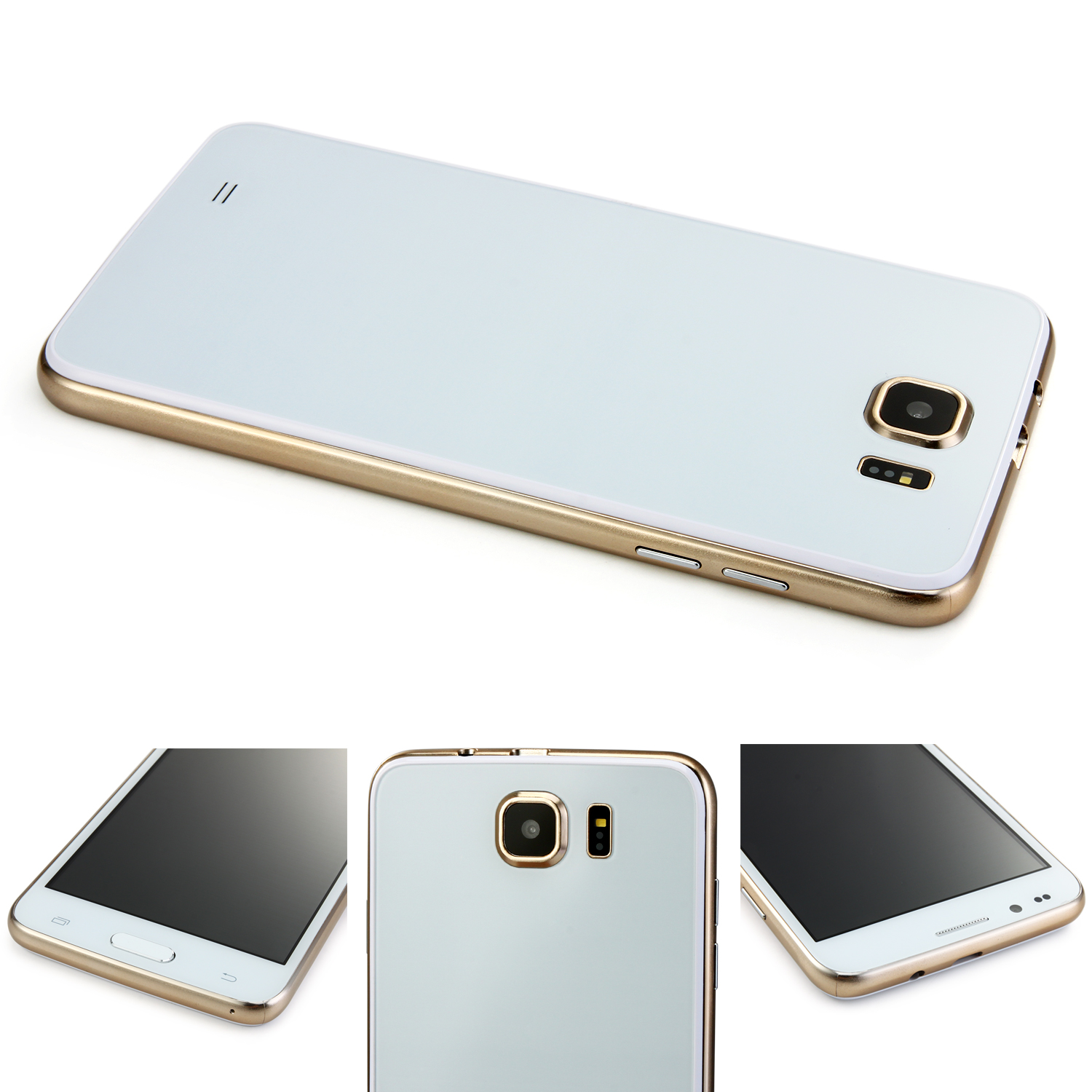 Tengda S6 Smartphone 5.0 Inch MTK6572M Dual Core Android 4.4 GPS White