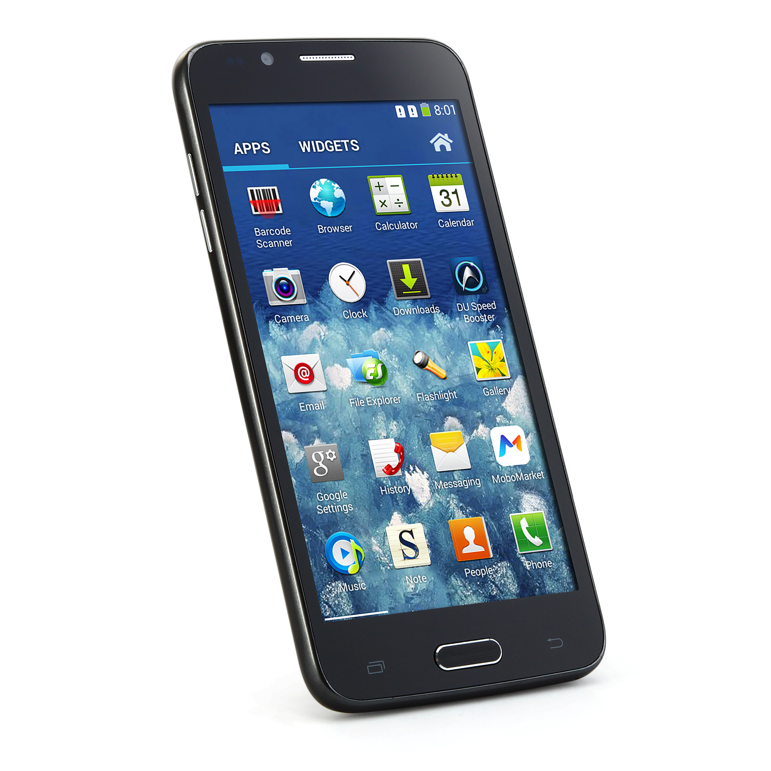 Tengda S6 Smartphone 5.0 Inch MTK6572M Dual Core Android 4.4 GPS Black