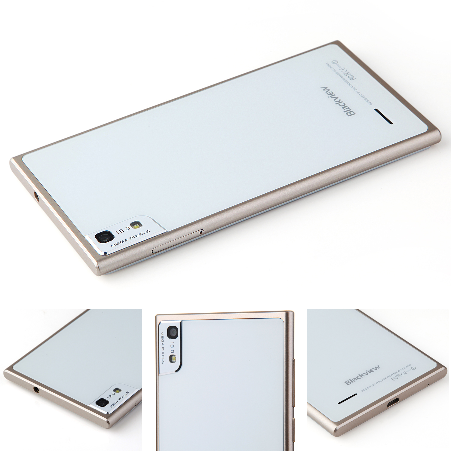 Blackview Arrow V9 Smartphone 5.0 Inch FHD MTK6592 Octa Core 2GB 16GB 18.0MP Gold