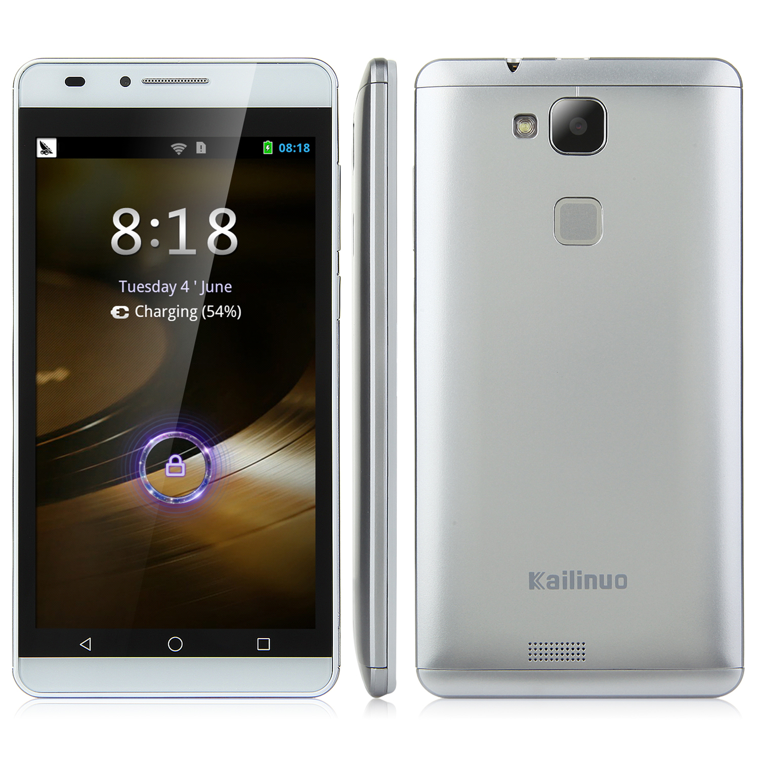 Kailinuo K27 Smartphone 5.0 Inch MTK6572M Dual Core Android 4.2 Silver