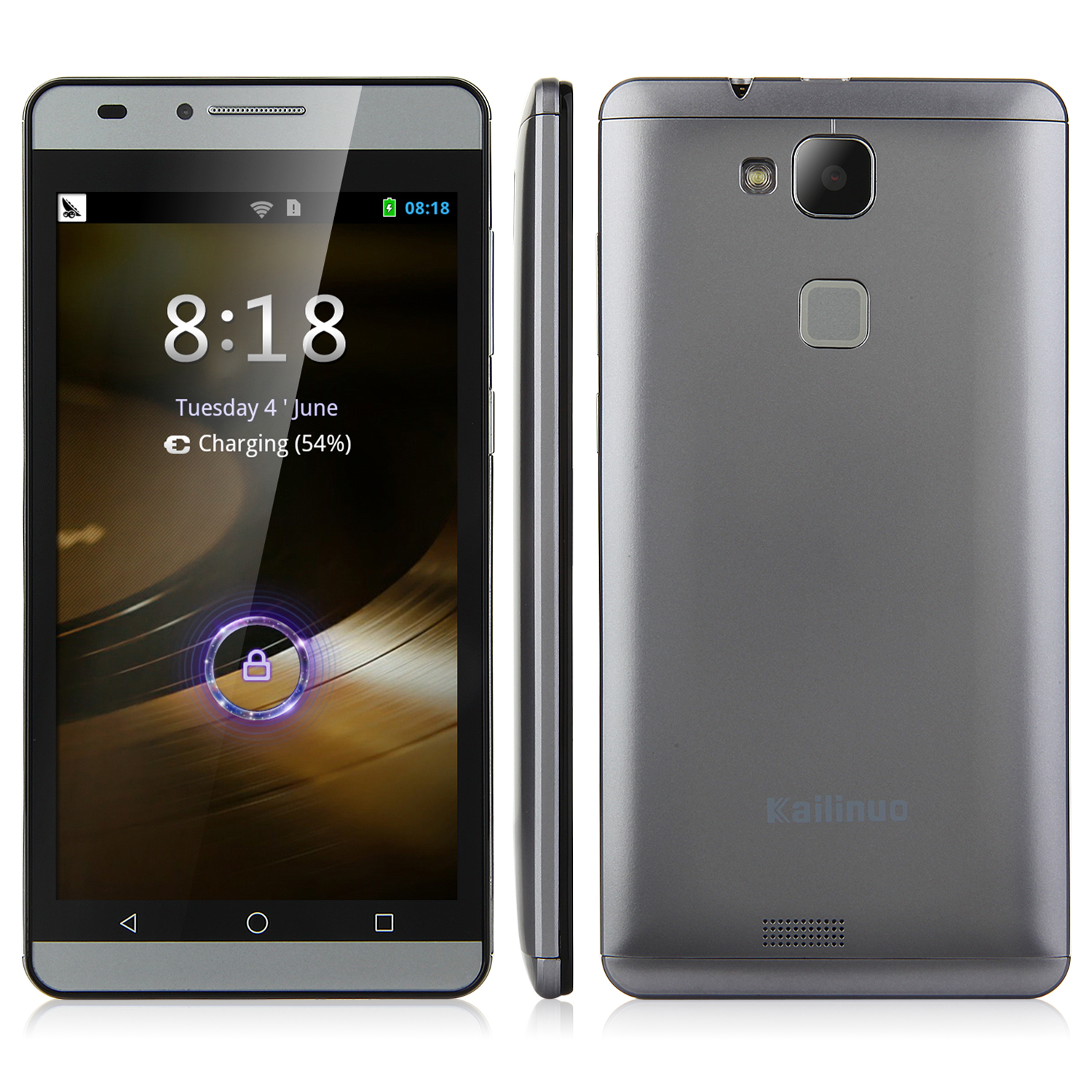 Kailinuo K27 Smartphone 5.0 Inch MTK6572M Dual Core Android 4.2 Grey