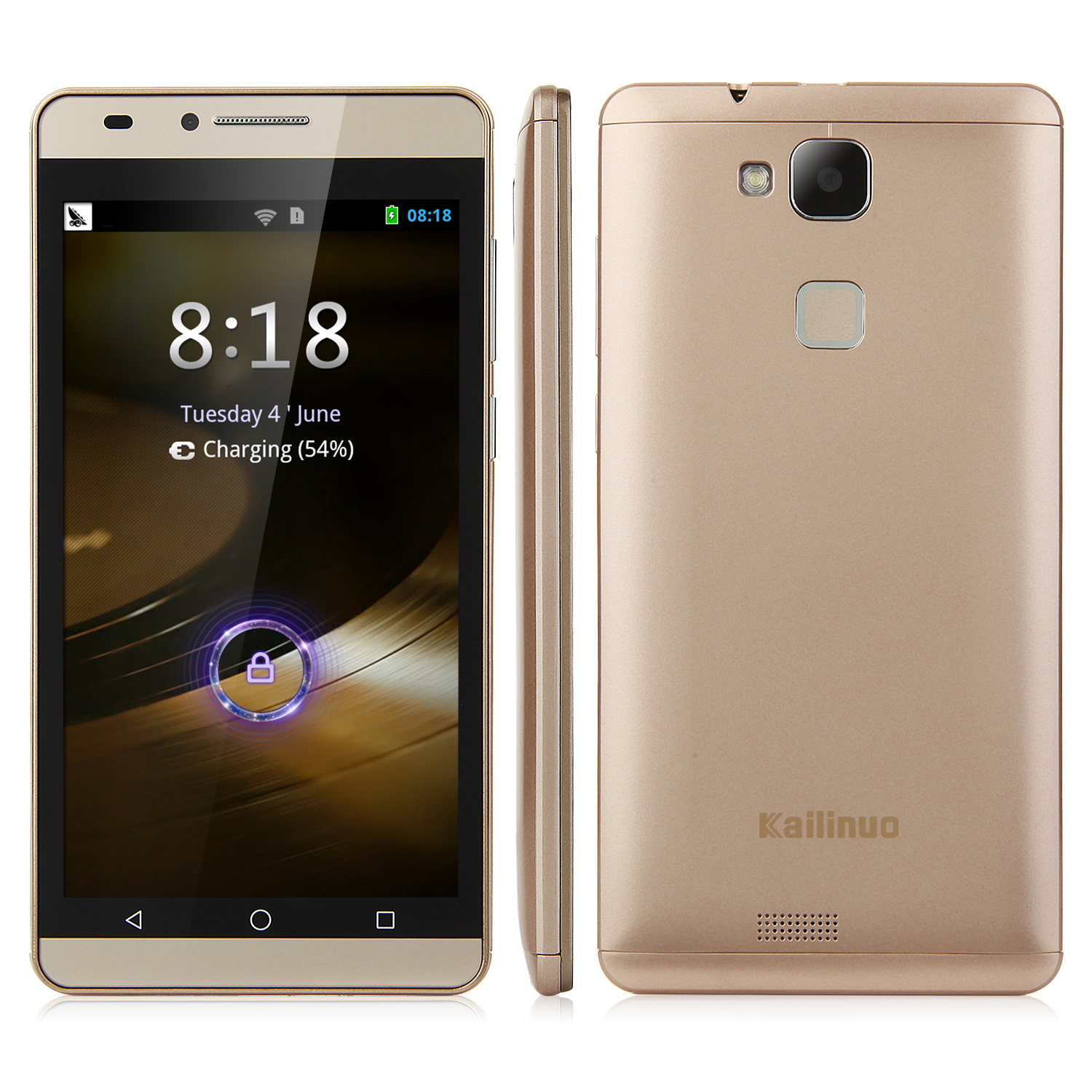 Kailinuo K27 Smartphone 5.0 Inch MTK6572M Dual Core Android 4.2 Gold