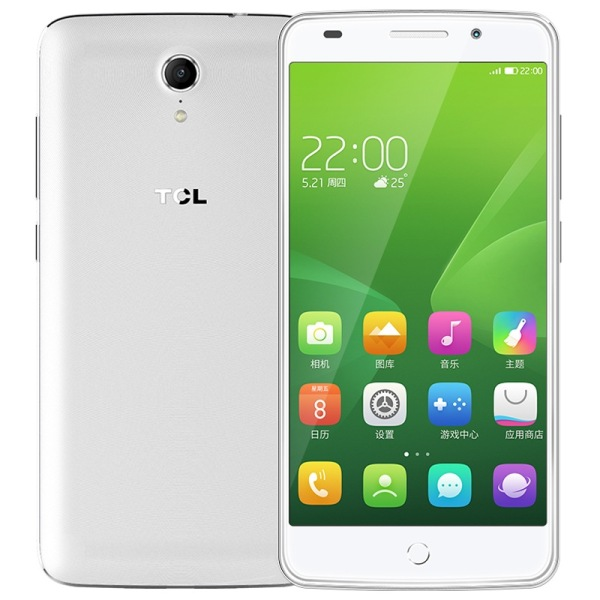 TCL 3S 4G Smartphone 5.0 Inch FHD Octa Core 2GB 16GB Eyeprint Identification White