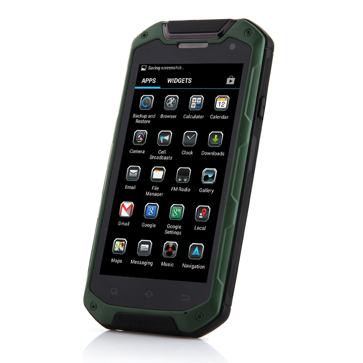 Tengda V12 Smartphone IP68 MTK6589T 4.5 Inch HD IPS Screen Android 4.2 - Green