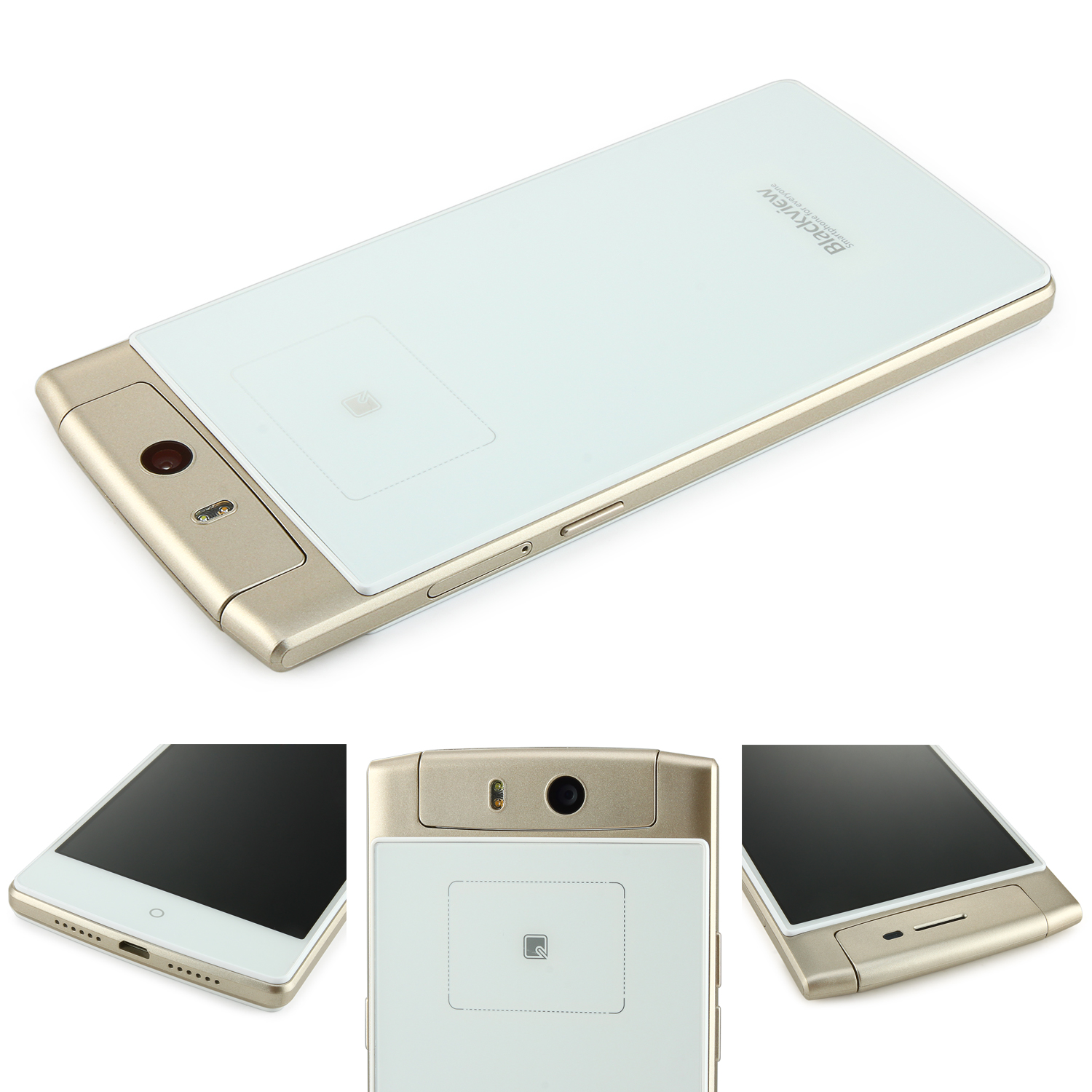 Blackview Acme Smartphone 5.0 Inch FHD MTK6592 2GB 16GB 18.0MP Camera Back Touch Gold