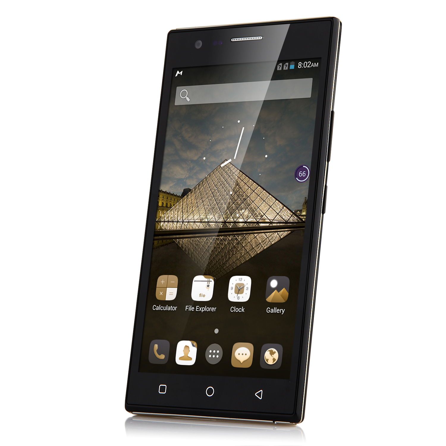 Tengda P7 Smartphone 5.0 Inch QHD Screen Quad Core Android 4.4 3G GPS Black