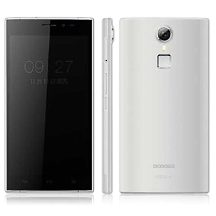 "DOOGEE F5 4G Smartphone 3GB 16GB 5.5"" FHD 64bit Octa Core Android 5.1 3000mAh Silver"